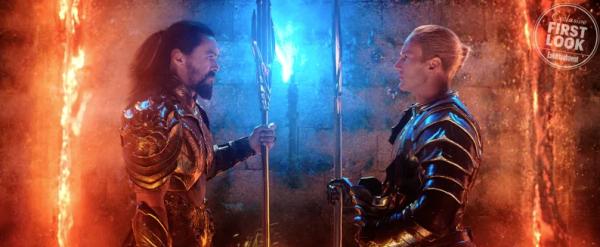 Aquaman y Orm, mejor conocido como Ocean Master