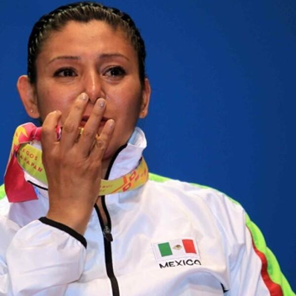 María Paredes de México medalla de oro,