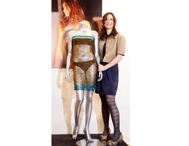 Este es el vestido transparente que Kate Middleton modeló antes de ser la Princesa de Inglaterra.