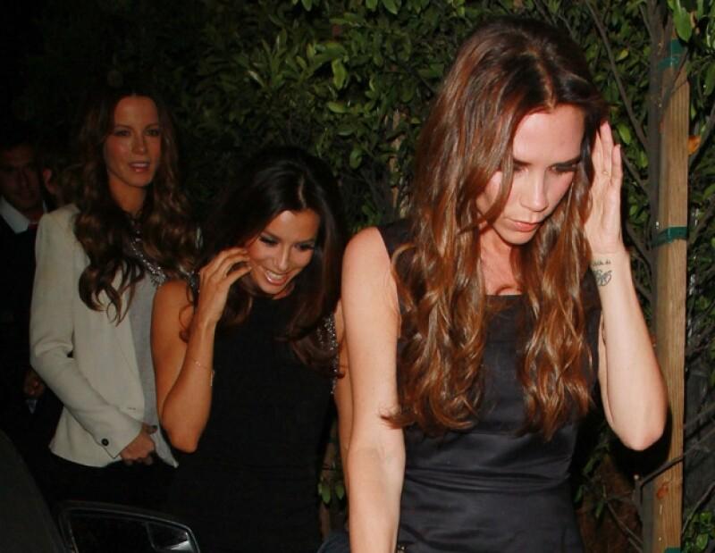 """La protagonista de """"Esposas Desesperadas"""" estuvo muy bien acompañada de sus amigas."""