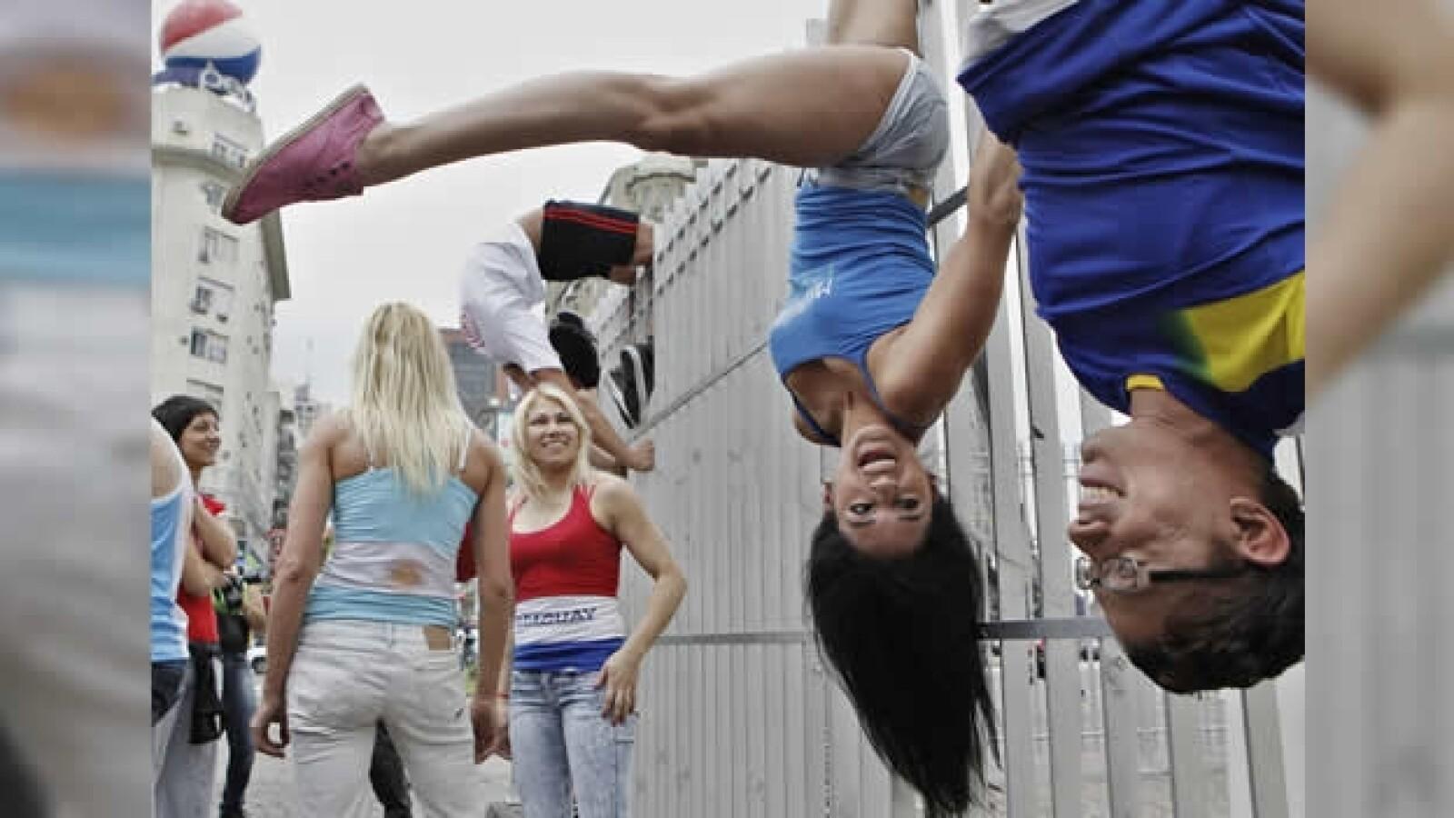 exhibicion de pole dance