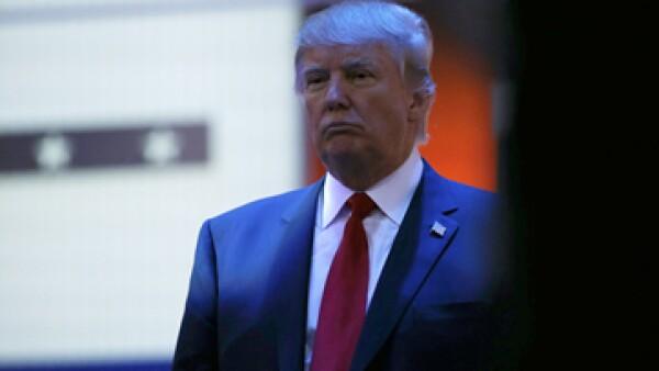 Trump criticó a los moderadores del debate en MSNBC. (Foto: Especial)