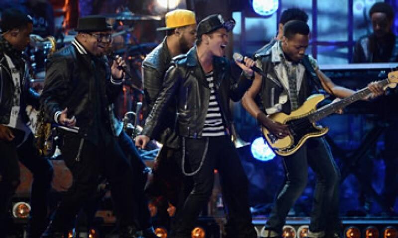 Peter Gene Hernández es el nombre verdadero de Bruno Mars. (Foto: Getty Images)