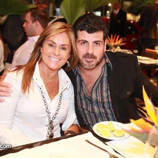 Martha Fernández y Enrique Montaño