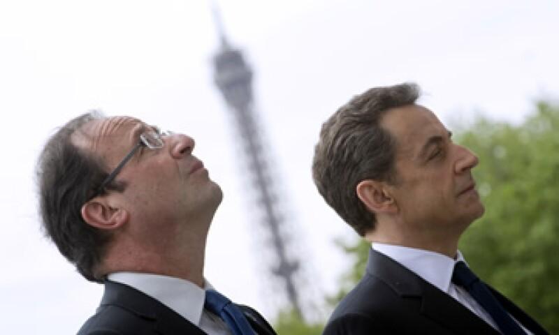 Francios Hollande dijo que las inacciones de Sarkozy minarán su capacidad para cumplir las promesas electorales. (Foto: AP)