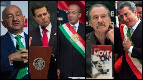 Los expresidentes
