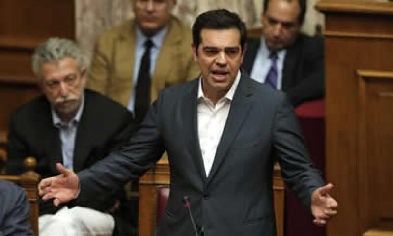 Alexis Tsipras defendió el plan de reformas en el Parlamento. (Foto: Reuters )