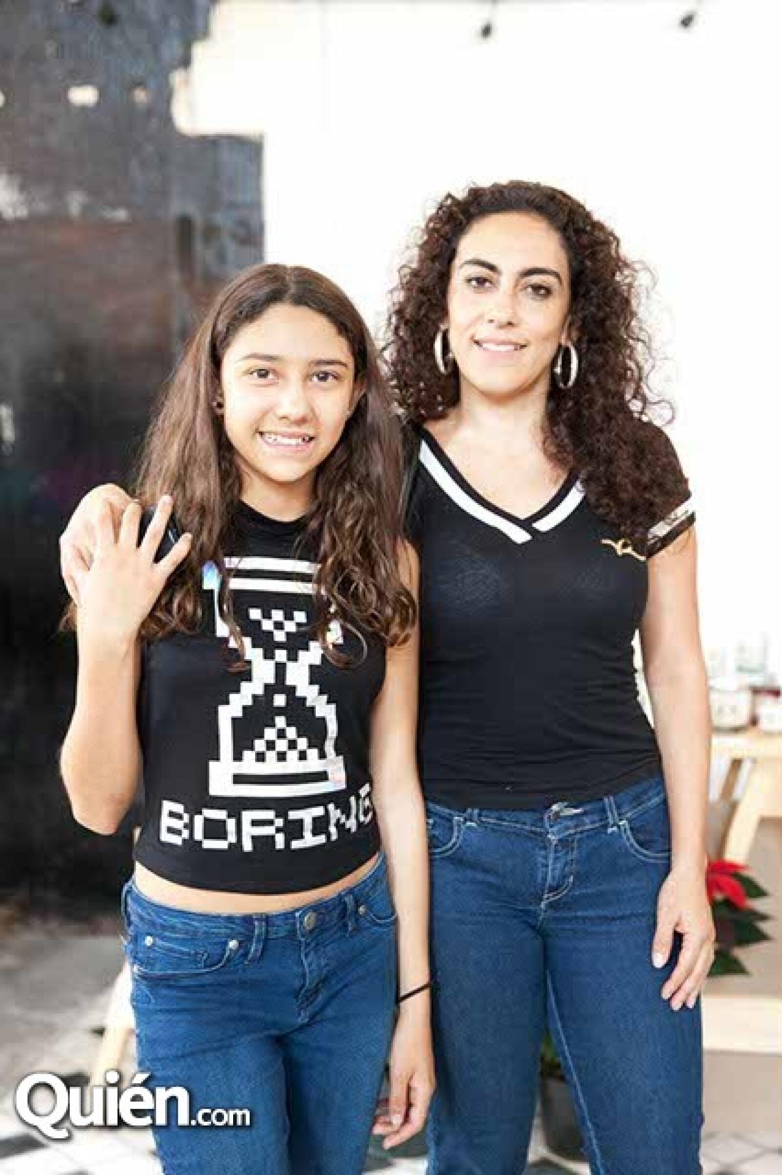Valeria y Brenda Martín