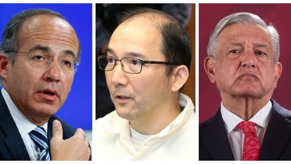 Calderón, Ye Gon y AMLO