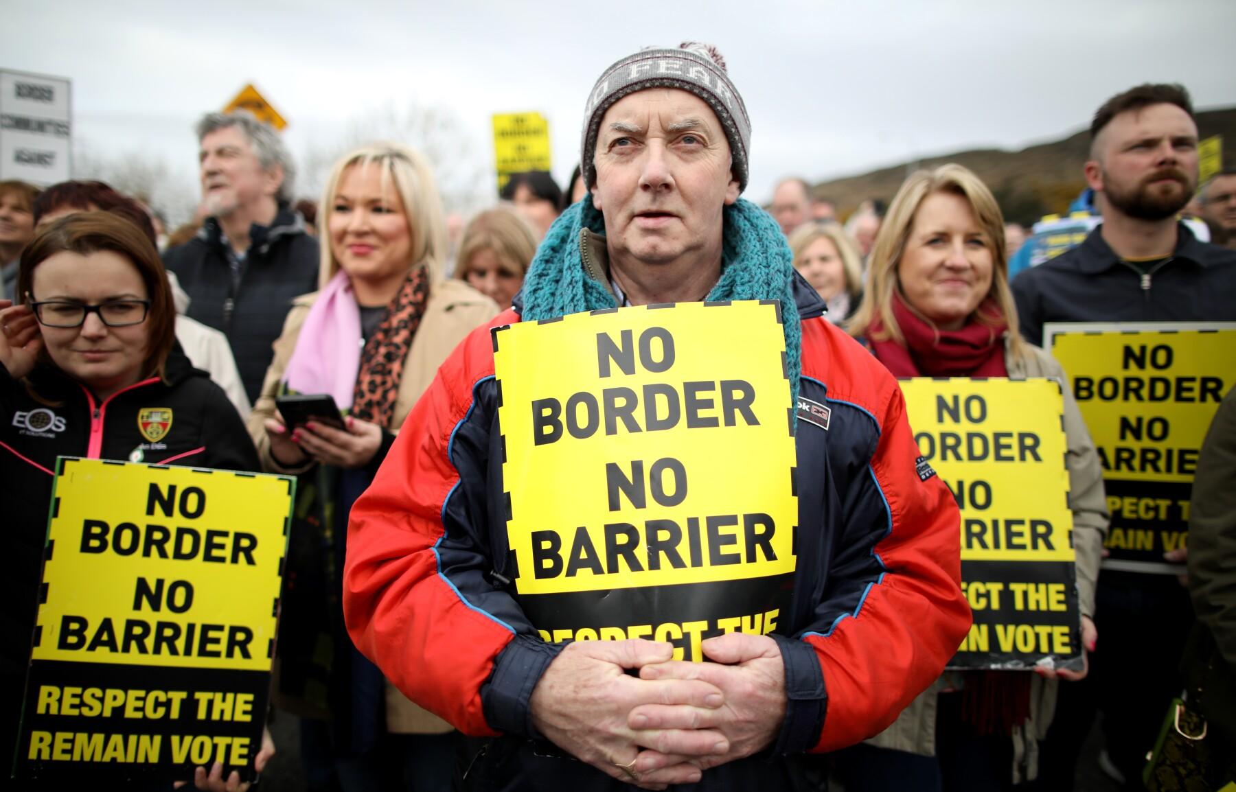 Frontera en Irlanda