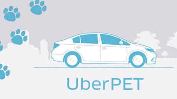 La tecnológica inició con el servicio de UberPet este viernes. (Foto: Uber/Cortesía)