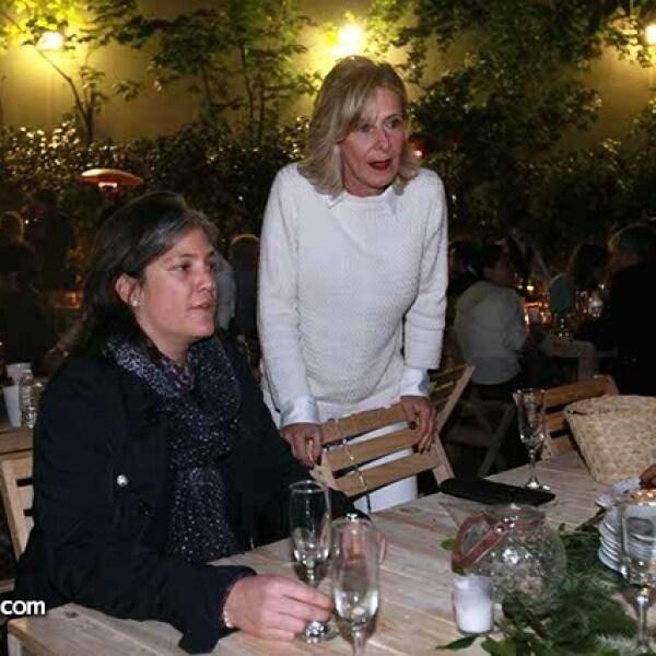 Michelle Fastlicht y Claudia Dorenbaum
