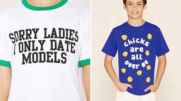 La marca estadounidense se ha visto envuelta en una polémica una vez más por una camiseta que muchos consideran machista.