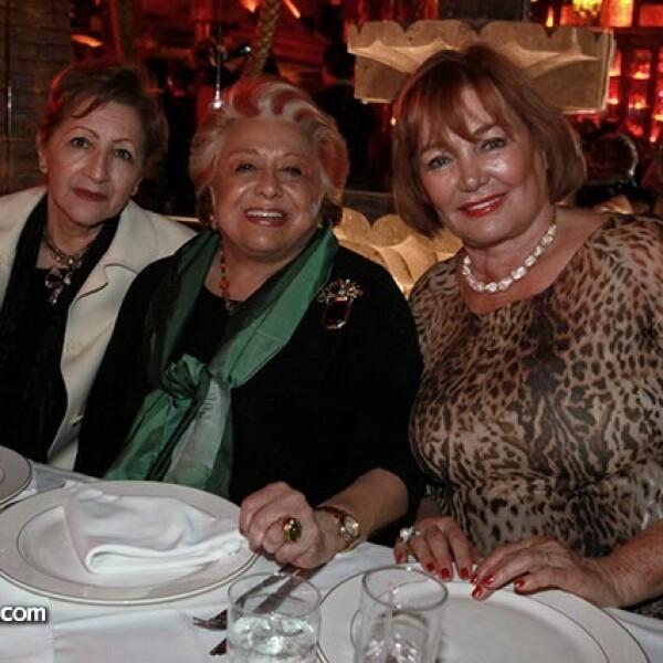 Lenis Survieta,Marguarita Sotomayor y Karin Alemán