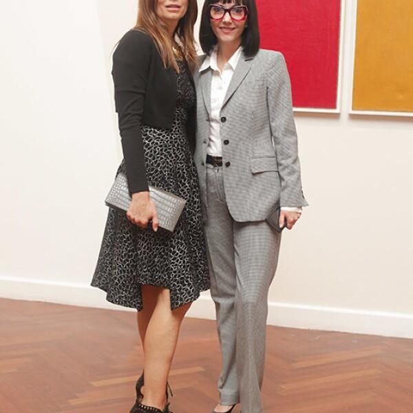 Ana Cristina Cabezut y Gabriela Garza