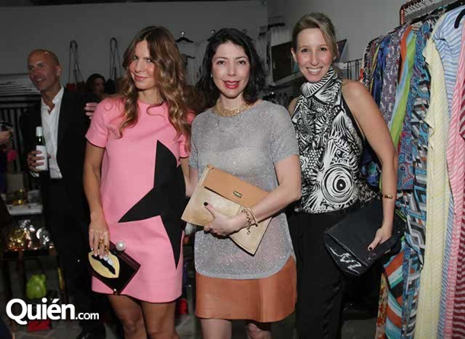 Ana Alexandra Henrique,Ana Sofía Tarbay y Sigal Cohen