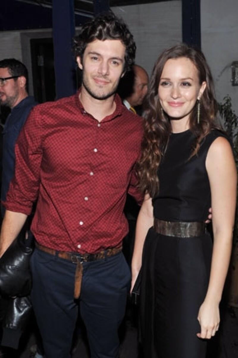 """El lunes se dijo que el actor se casó con la ex estrella de """"Gossip Girl"""", Leighton Meester y ayer, el joven de 34 años, lo confirmó."""