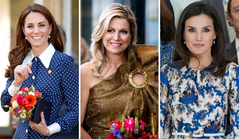 Kate Middleton, Máxima de Holanda y Letizia