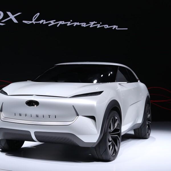 QX Inspiration de Infiniti Motor Company