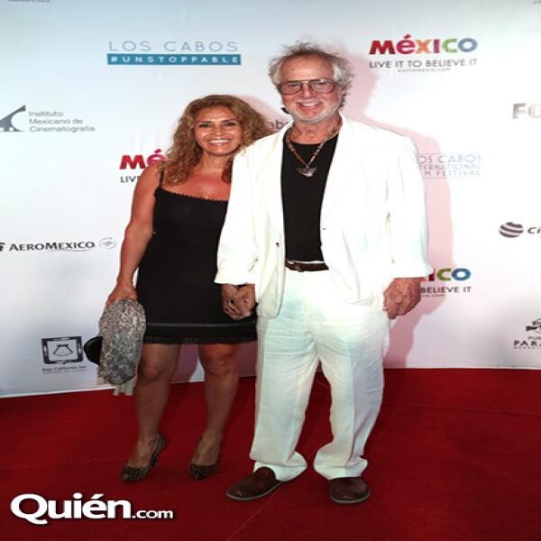 Jenny y Hugo Stiglitz