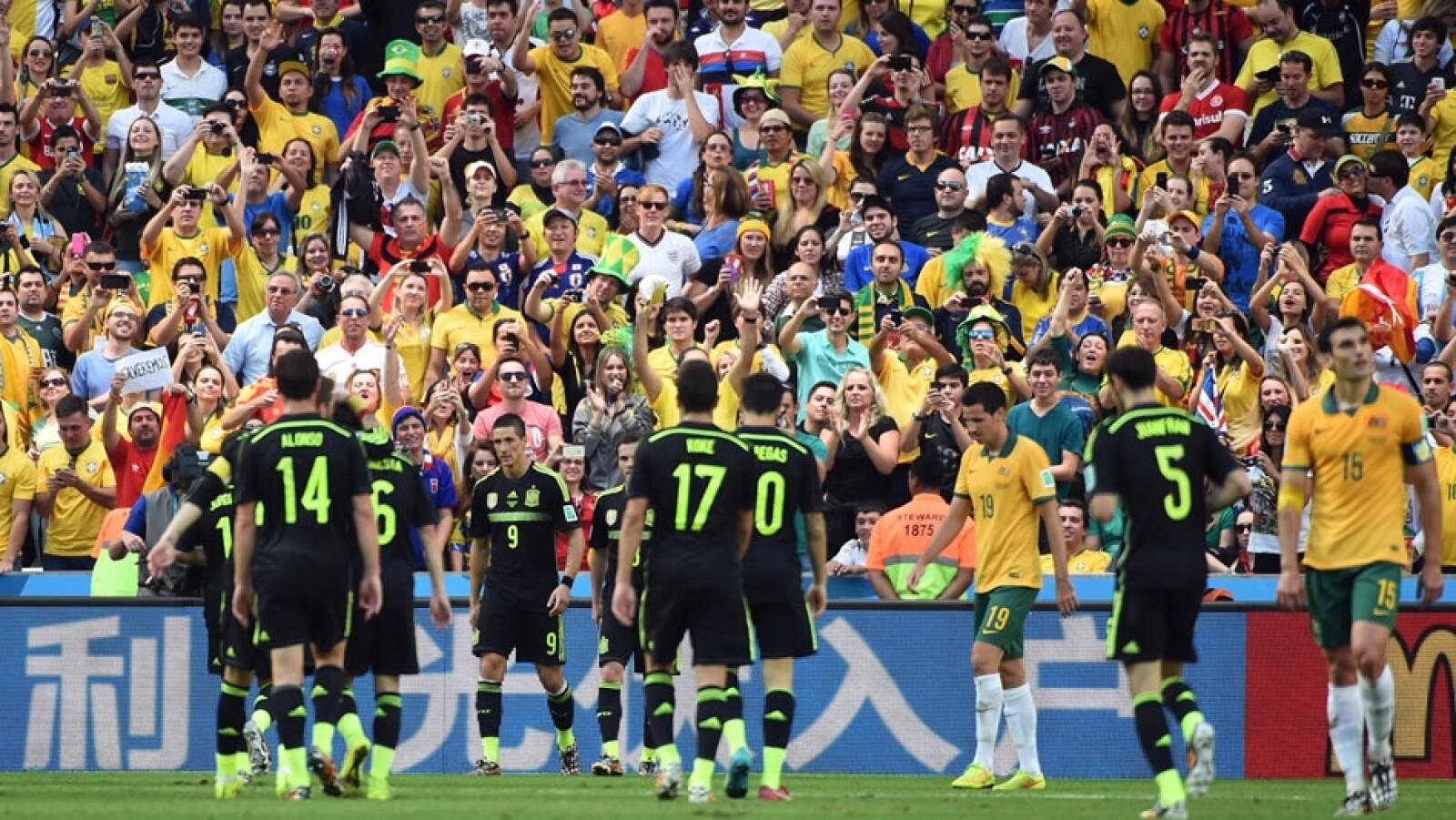 Australia vs España