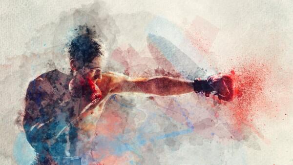 Gimnasio de box.