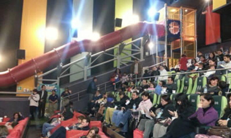 La empresa prevé abrir 15 espacios iguales en todo México este año. (Foto: Cortesía de Cinépolis)