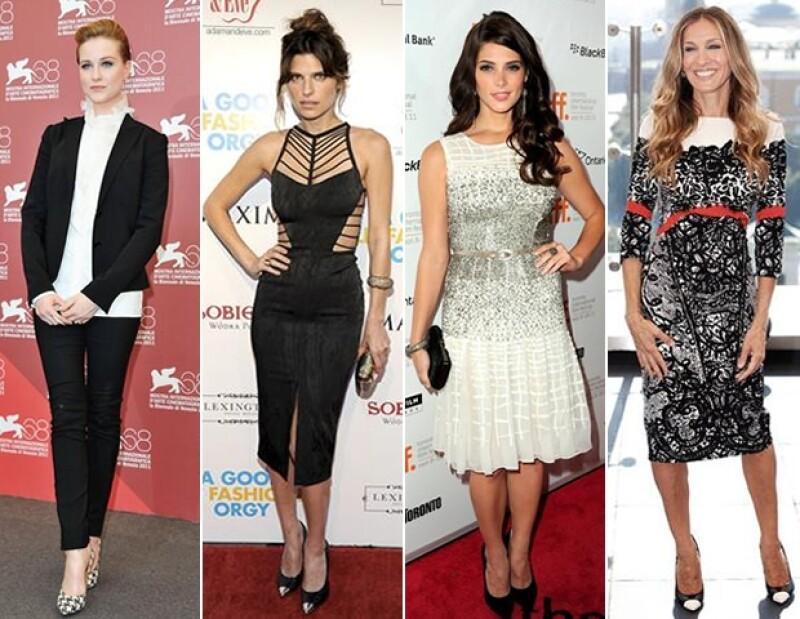 Algunas de las actrices que aman sus diseños.