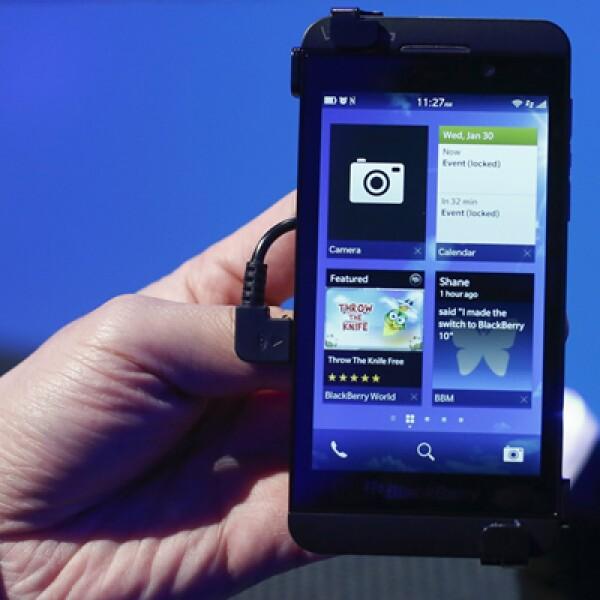 El BlackBerry Z10 estará disponible en EU a partir de marzo a un precio de 149 dólares en un contrato a tres años.