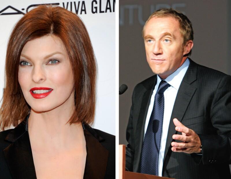 La ex modelo canadiense se encuentra en Nueva York debido a una demanda que entabló en contra de su ex pareja, el millonario francés, por la manutención de su hijo Augustus.