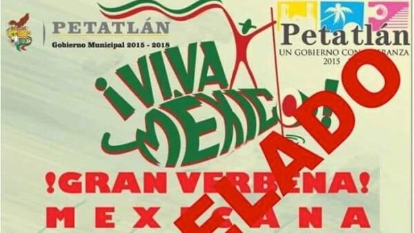 Cancelan grito en Guerrero