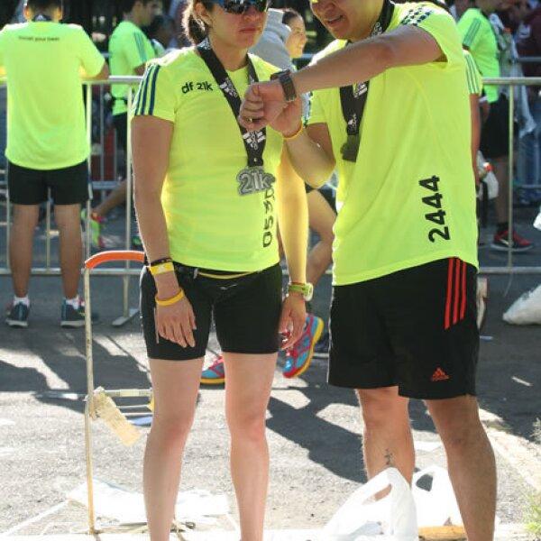 Adriana Fuster y Álvaro Flores