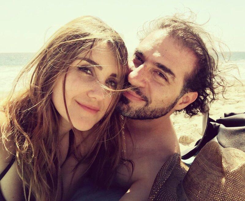 Dulce María y Francisco Álvarez