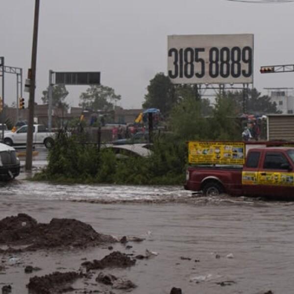 lluvias aguas negras Ecatepec
