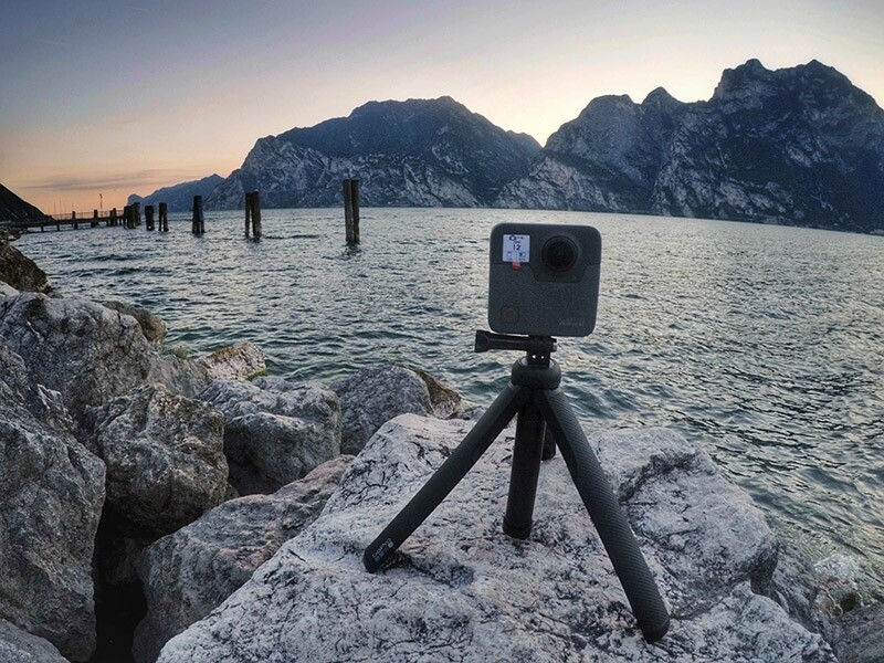 GoPro Fusion 360, lista para las vacaciones