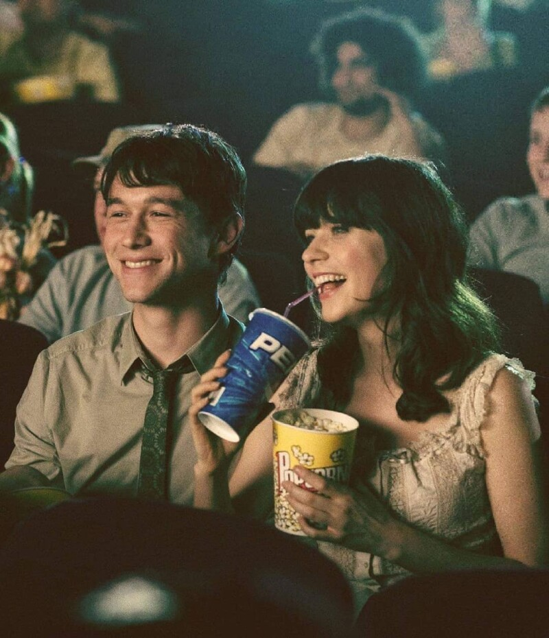 Joseph Gordon-Levitt y Zooey Deschanel
