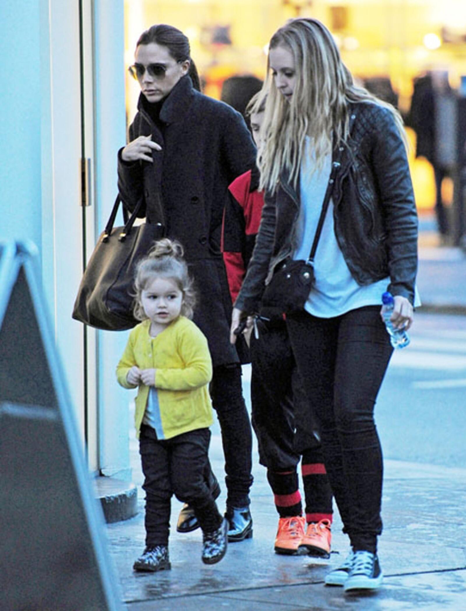 Siempre ha cuidado transmitir el sentido de la moda a sus hijos.