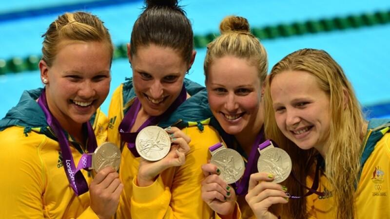 australia natación londres 2012