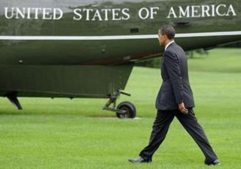 Barack Obama, presidente de EU, se reunirá en Guadalajara con los líderes de México y Canadá. (Foto: Reuters)