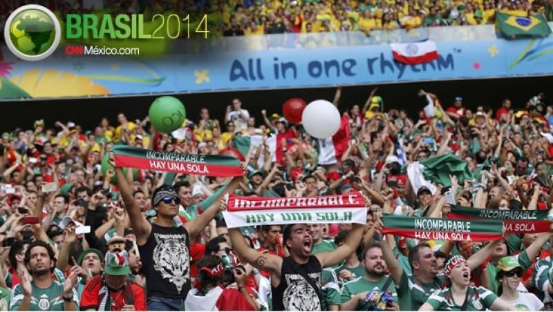 mexico aficionados brasil