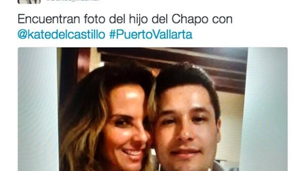 A través de su cuenta de Twitter, Denise Maerker dio a conocer una imagen donde se ve a la actriz sonriendo junto a Alfredo Guzmán.