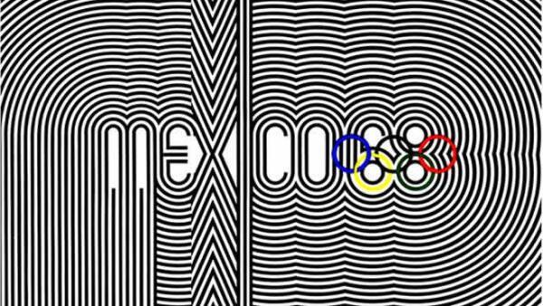 Cartel Olimpiada 1968