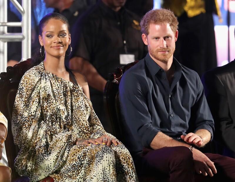 Príncipe Harry y RiRi