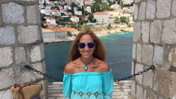Mariana Rivas disfrutó de unos días en familia en Croacia