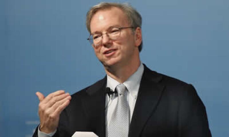 Schmidt sirvió como presidente ejecutivo de Google hasta el 2011. (Foto: Reuters)