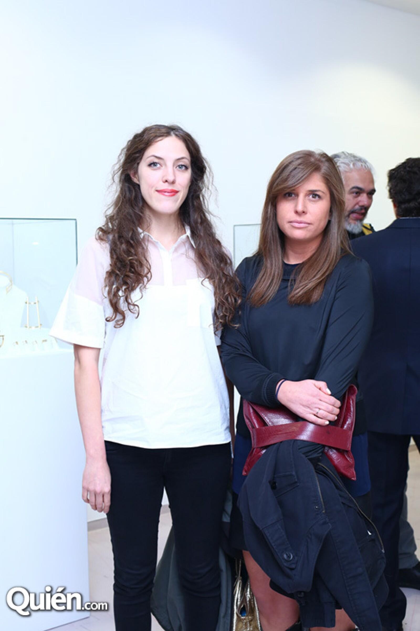 Susana Medina y Lorena Sarabia