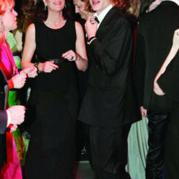 Princesa Caroline de Hanover con su hijo Andrea de Monte Carlo