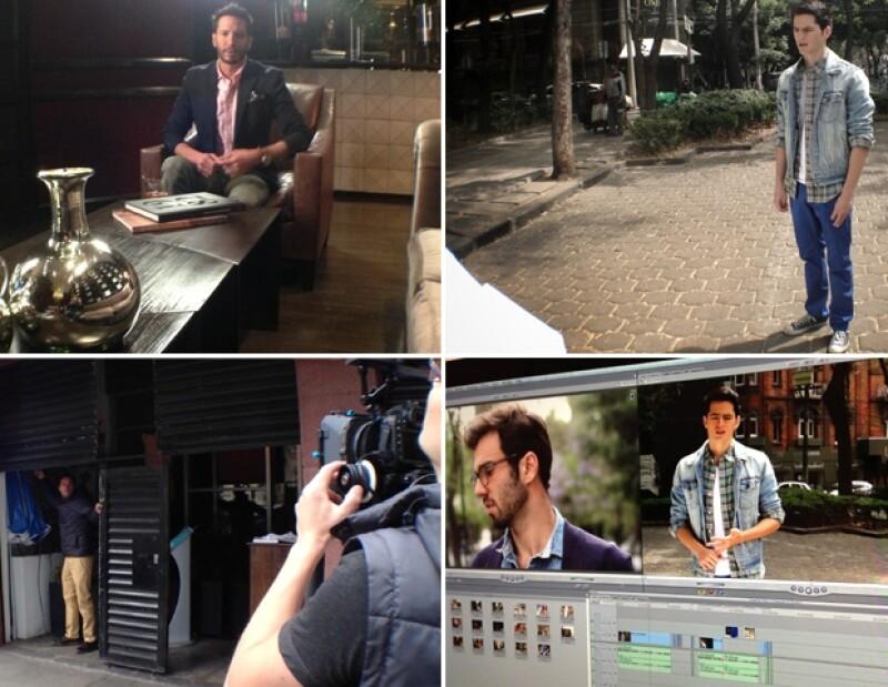 Nos colamos a la grabación del video `Men of Style´ de Dockers con tres caballeros guapos.