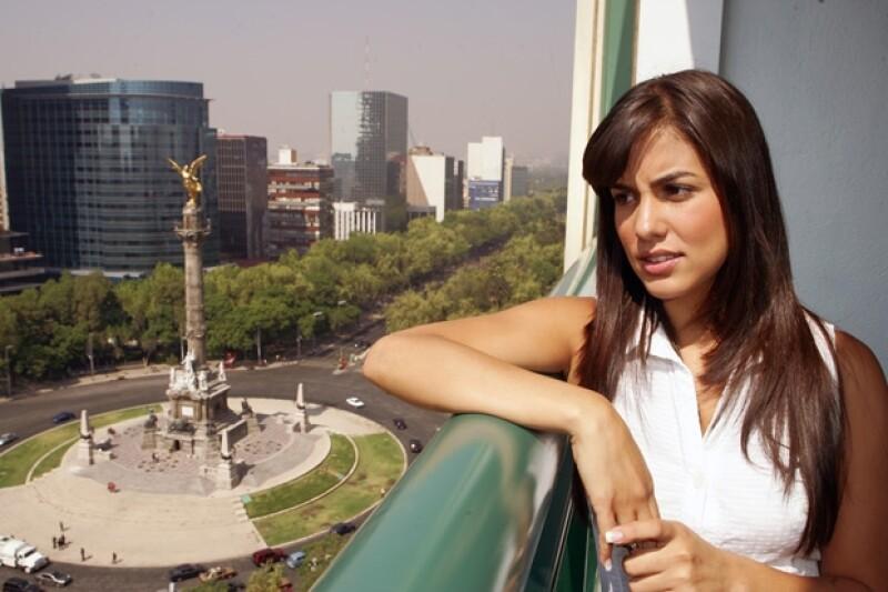 Tania participa en la nueva versión de la telenovela Monte Calvario, La mujer que no podía amar.