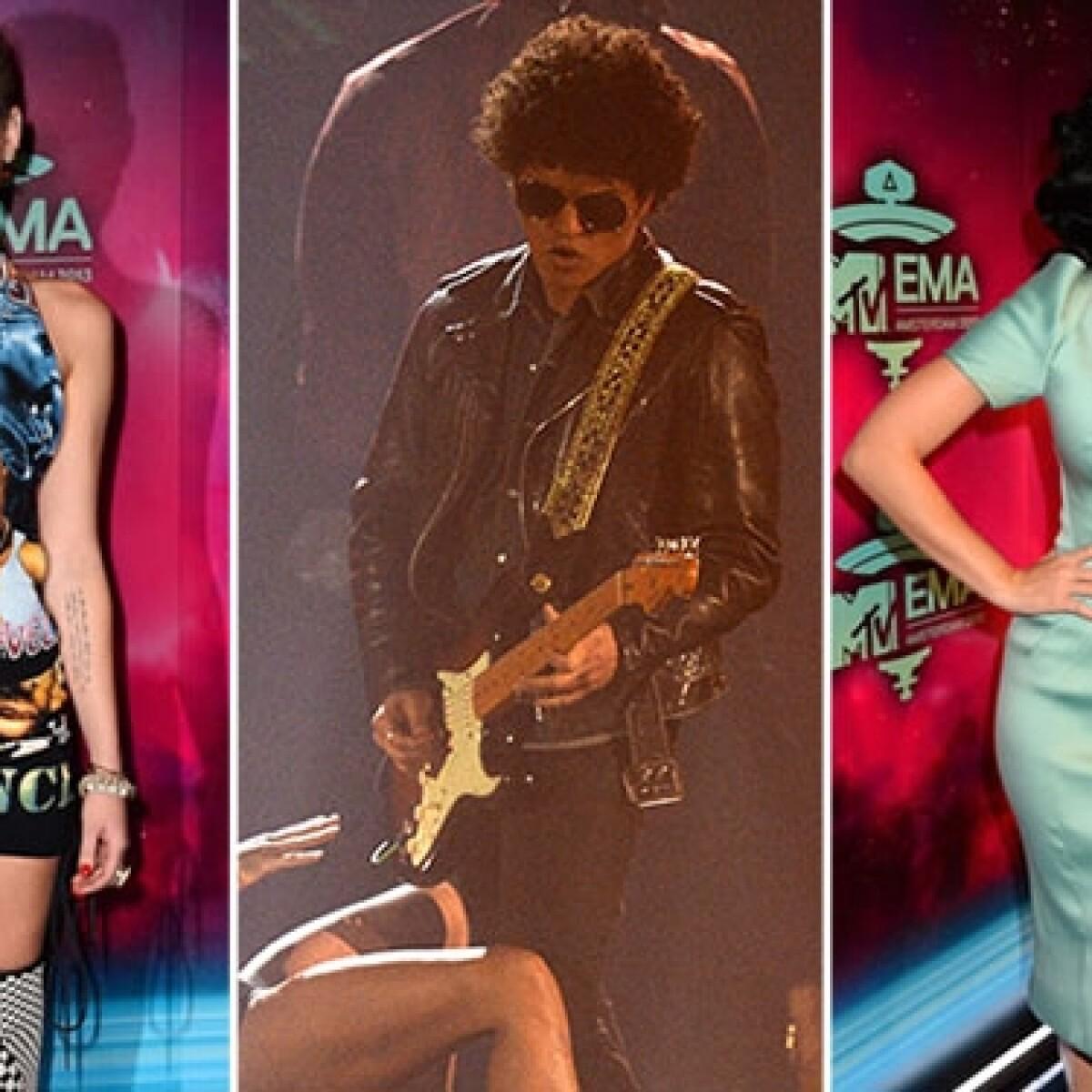 La lista de ganadores de los MTV Europe Music Awards 2013